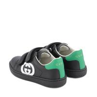Afbeelding van Gucci 647072 kindersneakers zwart