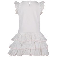 Picture of MonnaLisa 393903SK baby dress white