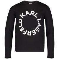 Afbeelding van Karl Lagerfeld Z15189 kindertrui zwart