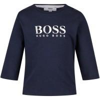 Afbeelding van Boss J05673 baby t-shirt navy