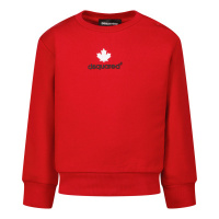 Afbeelding van Dsquared2 DQ0561 baby trui rood