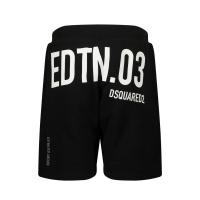 Afbeelding van Dsquared2 DQ0010 kinder shorts zwart