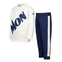 Afbeelding van Moncler 8M70520 baby joggingpak off white