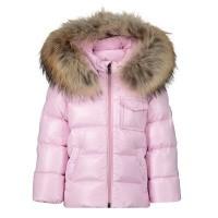 Afbeelding van Moncler 4198725 babyjas licht roze