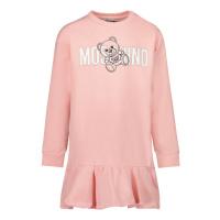 Afbeelding van Moschino MDV099 babyjurkje licht roze