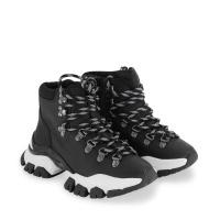 Afbeelding van Moncler 4M70900 kindersneakers zwart