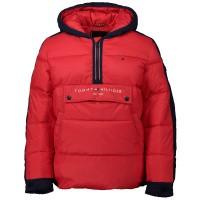 Picture of Tommy Hilfiger KB0KB05139 kids jacket red