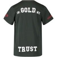 Afbeelding van in Gold We Trust FA046KIDS kinder t-shirt groen