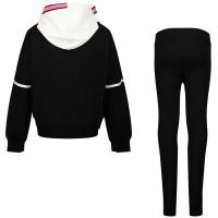 Afbeelding van Moncler 8M73410 kinder joggingpak zwart