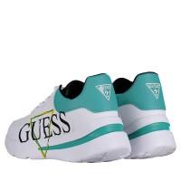 Afbeelding van Guess FL5MILELE12 dames sneakers wit
