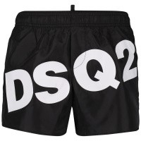 Picture of Dsquared2 DQ03BK kids swimwear black