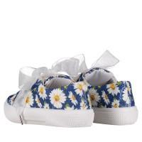 Afbeelding van MonnaLisa 8C3008 kindersneakers blauw