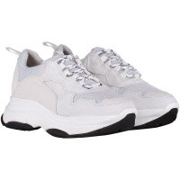 Afbeelding van Deabused 112211 dames sneakers wit