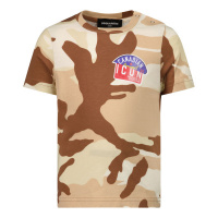 Afbeelding van Dsquared2 DQ0254 baby t-shirt army