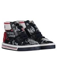 Afbeelding van Dolce & Gabbana DA0657 kindersneakers navy