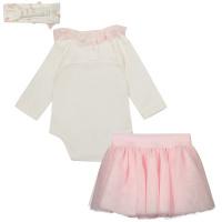 Afbeelding van MonnaLisa 35750S7 babysetje licht roze