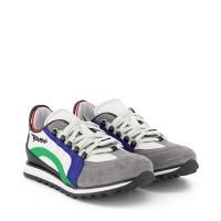 Afbeelding van Dsquared2 63511 kindersneakers groen/grijs