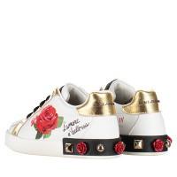 Afbeelding van Dolce & Gabbana D10806 kindersneakers wit