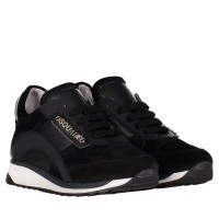 Picture of Dsquared2 57156 kids sneakers black