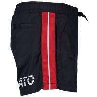 Picture of Antony Morato MKBW00028 kids swimwear navy