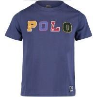 Afbeelding van Ralph Lauren 321703496 kinder t-shirt blauw