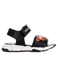 Picture of Dsquared2 59803 kids sandals black