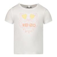 Afbeelding van Kenzo K95006 baby t-shirt wit