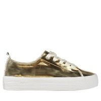Picture of Tommy Hilfiger FW0FW03378708W8C womens sneakers gold