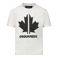 Afbeelding van Dsquared2 DQ0029 baby t-shirt wit