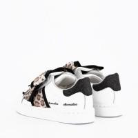 Afbeelding van MonnaLisa 8C4031 kindersneakers wit