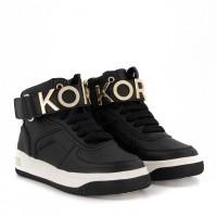 Afbeelding van Michael Kors ZTATUMED kindersneakers zwart