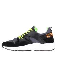 Picture of Iceberg 1053 mens sneakers black