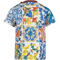 Picture of Dolce & Gabbana L1JT7W G7ONH baby shirt white
