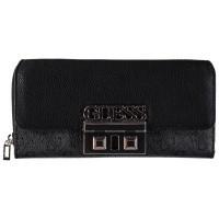 Afbeelding van Guess SWSG7102620 dames portemonnee zwart