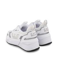 Afbeelding van EA7 XSX012 kindersneakers wit
