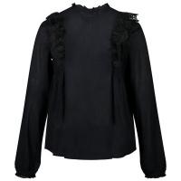 Afbeelding van Zadig & Voltaire X15222 kinder overhemd zwart