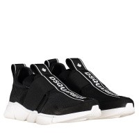 Picture of Dsquared2 59830 kids sneakers black