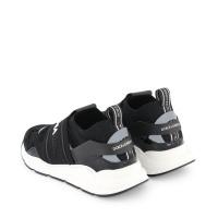 Afbeelding van Dolce & Gabbana DA0968 AO238 kindersneakers zwart