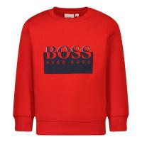 Afbeelding van Boss J05893 baby trui rood