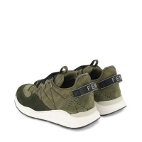 Afbeelding van Fendi JMR384 kindersneakers army
