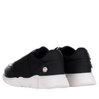 Afbeelding van Philipp Plein BSC0105 kindersneakers zwart