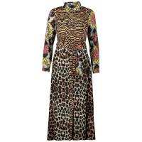 Afbeelding van EST'SEVEN SOFT RIODRESS dames jurk luipaard