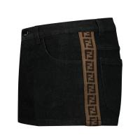 Afbeelding van Fendi JFF224 AEXN kinder shorts zwart