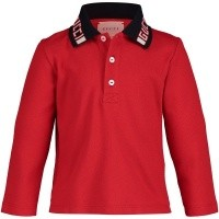 Afbeelding van Gucci 535710 baby polo rood