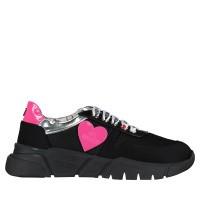 Afbeelding van Moschino JA15203 dames sneakers zwart