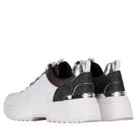 Afbeelding van Michael Kors 43R9CSFS1VPB dames sneakers wit
