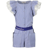 Afbeelding van MonnaLisa 117201A1 kinder jumpsuit blauw