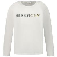 Afbeelding van Givenchy H15180 kinder t-shirt wit