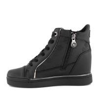 Afbeelding van Guess FL7FABELE12 dames sneakers zwart