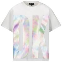 Afbeelding van DKNY D35R52 kinder t-shirt wit